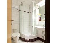 Badezimmer Standard Doppelzimmer Hotel Boltzmann