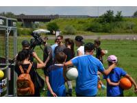 Puls 4 Videodreh bei Soccergolf Stockerau