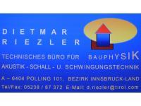 Bauphysik-Akustik-Schall- u Schwingungstechnik – Dietmar Riezler