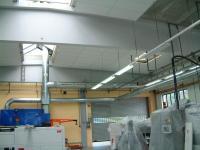 Lärmschutz in Produktionshalle