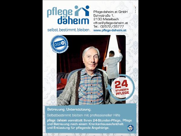 Pflege-daheim Plakat