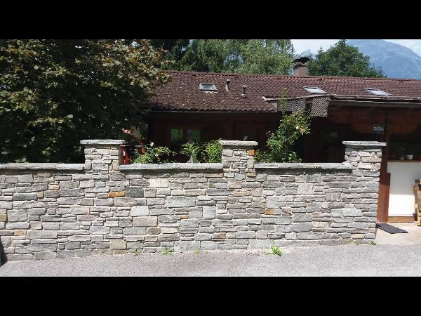 Mauersteine Pfitscher Gneis - Funktion trifft Gestaltung