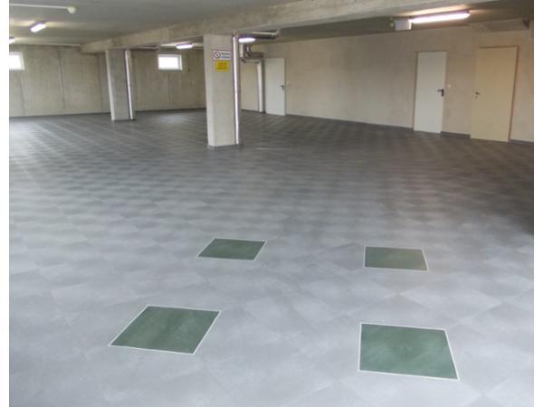 Industrieboden Lagerhalle