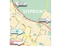 Anfahrtsplan DentAll4One Sopron Ungarn