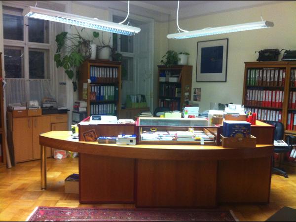 unser Verkaufsbüro