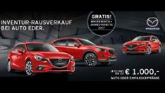 Mazda Inventur-Rausverkauf