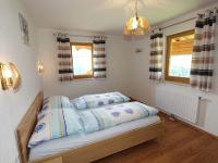 Schlafzimmer der neu eingerichteten Ferienwohnung