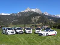 Berni's Taxi Fahrzeugflotte