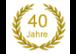 40. jähriges JUBILÄUM