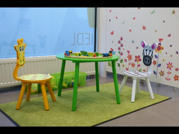Vorschau - Kinderwartebereich