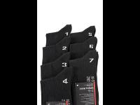 Duos - nummerierte Socken 1 - 7