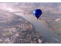 Fahrt bei Ybbs über die Donau