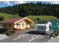 Einfahrt Camping Seehof