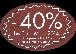 40 Jahre Jubiläum - 40% Rabatt...