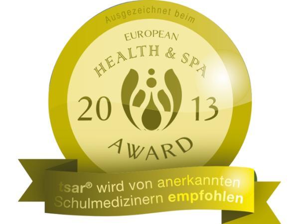 Ausgezeichnet beim European Health & Spa Award