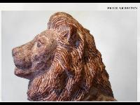 Löwe aus Adneter Marmor