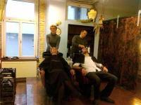 Salon Heaven bei der Arbeit
