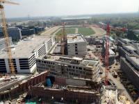 Baustelle WU Wien