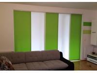 Flächenvorhang 2-färbig