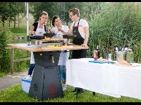 GRILL CHALLENGE - Mit den mobilen Event-Grilltischen kommt RETTER EVENTS auch zu Ihnen!