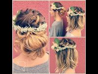 Hochzeits- Brautjungfer- Frisuren