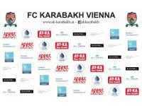 Sponsoring mit der Fußballmannschaft FC Karabakh Wien (wir unterstützen auch Sport)