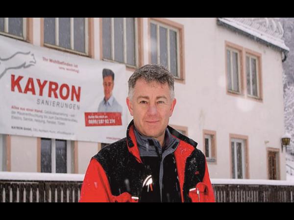 Gebäudesanierung Kayron GmbH