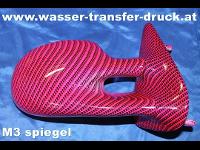 WasserTransferDruck   Carbon pink