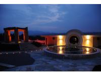 Stonehenge mit Musikbrunnenanlage