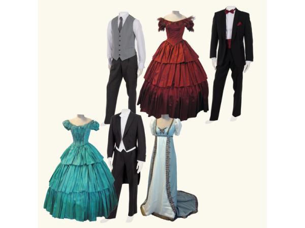 Vorschau - Abendgarderobe und historische Kostüme - Verleih und Maßanfertigungen
