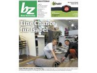 Coverstory der Wiener Bezirkszeitung über Meisterbetrieb Syorvatka, Ausgabe 17 aus 2016