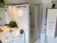 Badezimmer im Appartement KRISTALL
