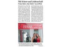 Friseur   Haar    Atelier    gibts   seit   1.08.2014