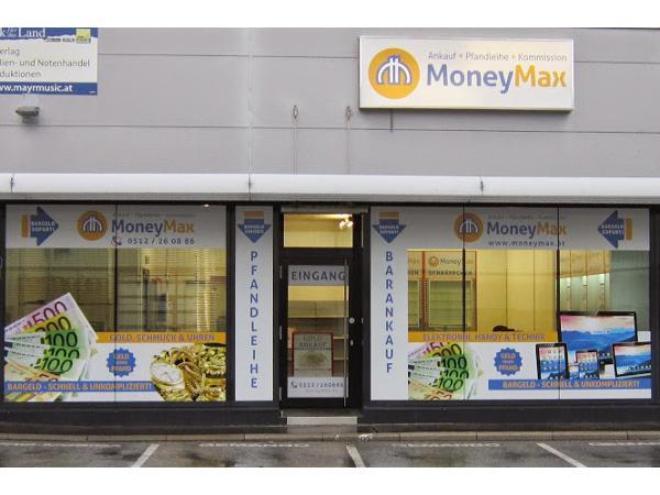 Vorschau - MoneyMax Ankauf & Pfandleihhaus Innsbruck/Neu-Rum