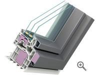 Kunststoff-Aluminium-Fenster