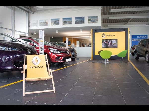 Schauraum im aktuellen Renault-Design
