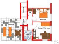 Plan Appartement Wildkogel
