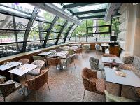 Wintergarten im Café Landtmann