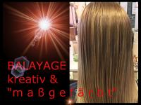 Trendige Haarfärbetechnik!