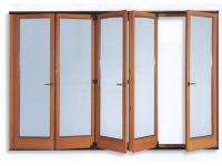 Falttüren in Holz und Holz/Aluminium