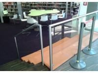 Sitzgelegenheit (Bücherei)