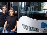 Geschäftsleitung Bösch Reisen Claudia Bösch und Tobias Gächter