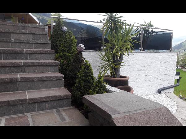 Porphyr Stufen - und Abdeckplatten