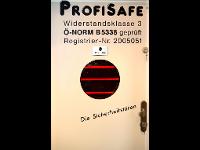 Sicherheitstür Profisafe  lt. Ö-Norm B5338 WKL3