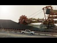 Industrievisualisierung | SANDVIK - Efficient Stockyard Machines