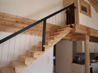 Holztreppe Wohnbereich