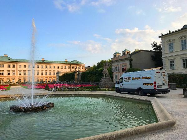 LieferTAXI - Mirabellgarten Salzburg