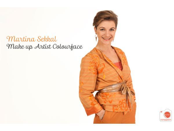 Die Visagistin Martina Sekkal - Colourface