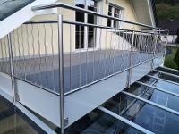 Sonderkonstruktion Balkonverlängerung