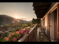 Kleinhofers Himbeernest mit sonnigen Hintergrund in Anger in der Steiermark